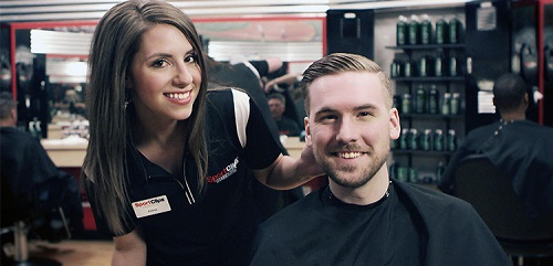 Sport Clips Haircuts of Lancaster​ stylist hair cut